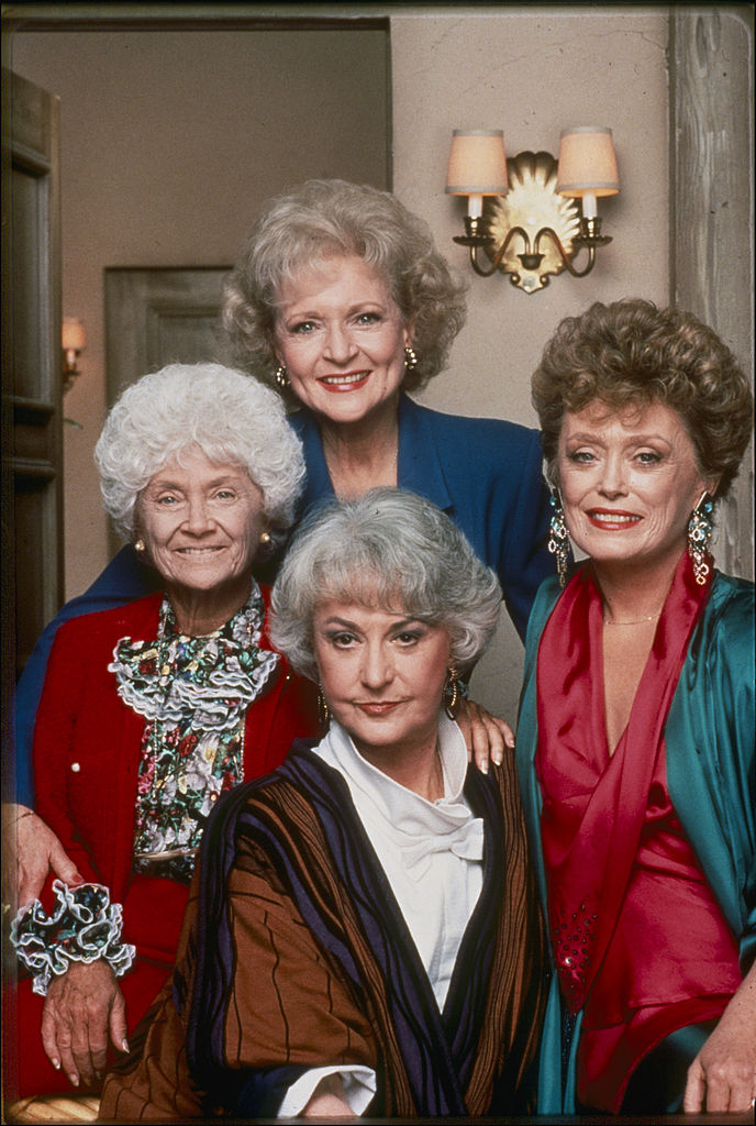 'The Golden Girls' cast