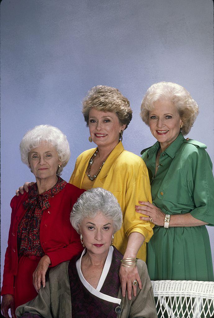 'The Golden Girls' cast