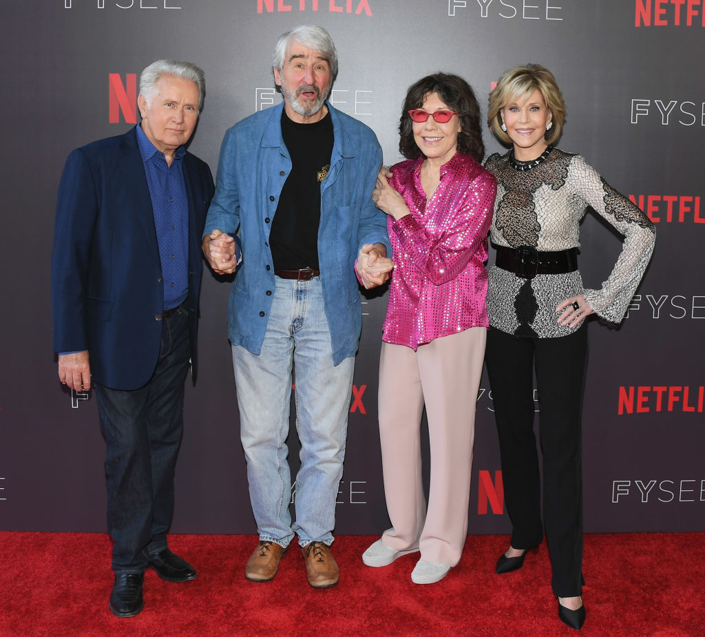 The cast of Netflix's 'Grace and Frankie'
