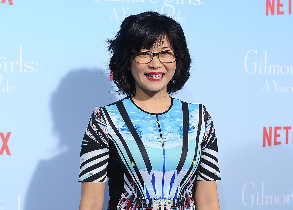 """Keiko Agena attends the premiere of """"Gilmore Girls: A Year in the Life"""""""