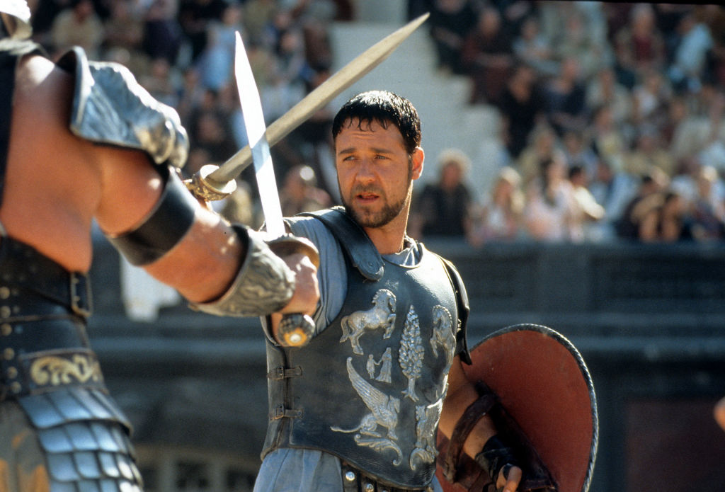 Russell Crowe In 'Gladiator'