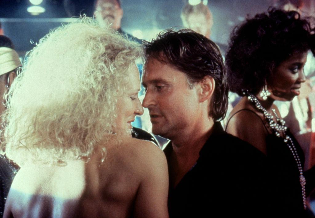 Glenn Close and Michael Douglas