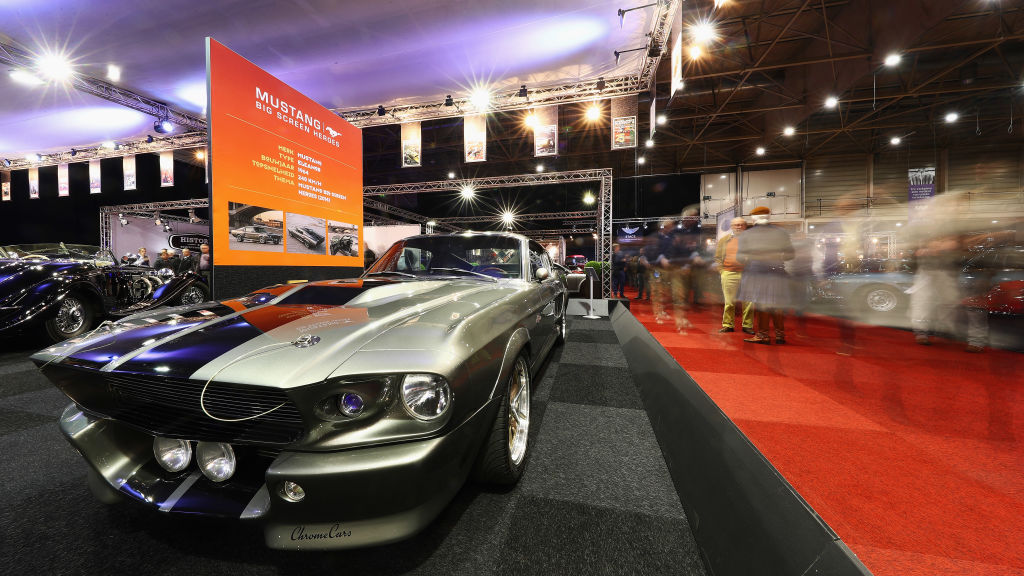 The Ford Mustang from 'Gone in 60 Seconds' on display
