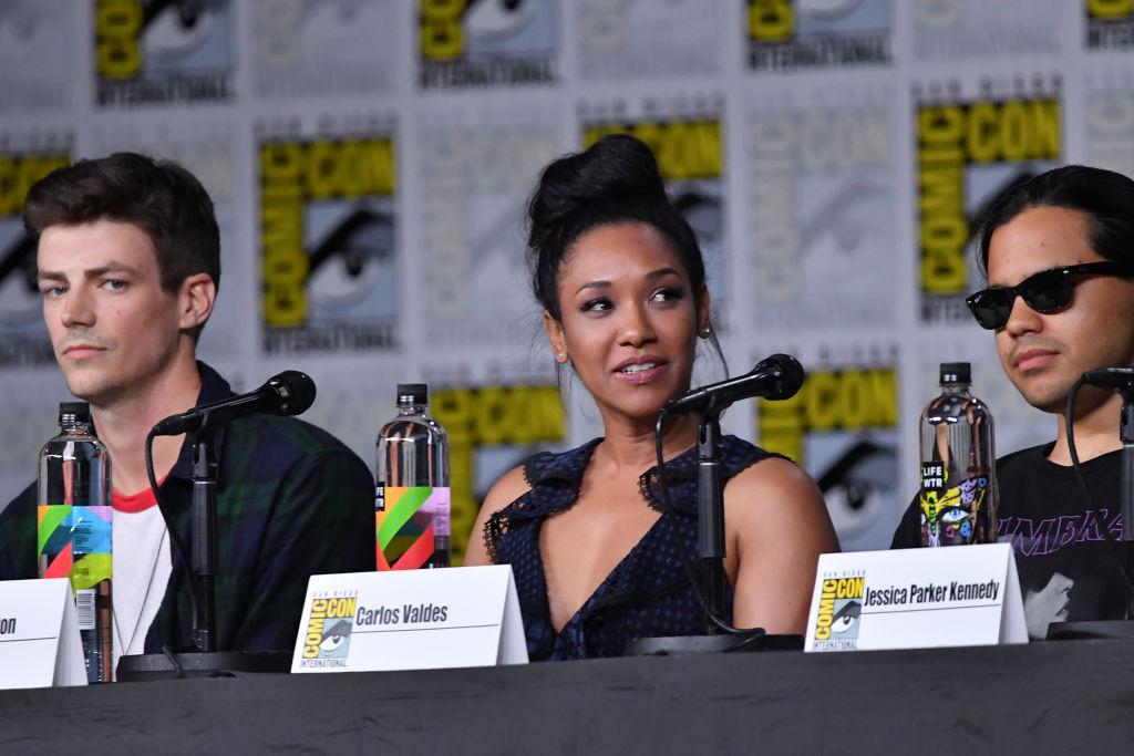 'The Flash' stars Grant Gustin, Candice Patton, and Carlos Valdes