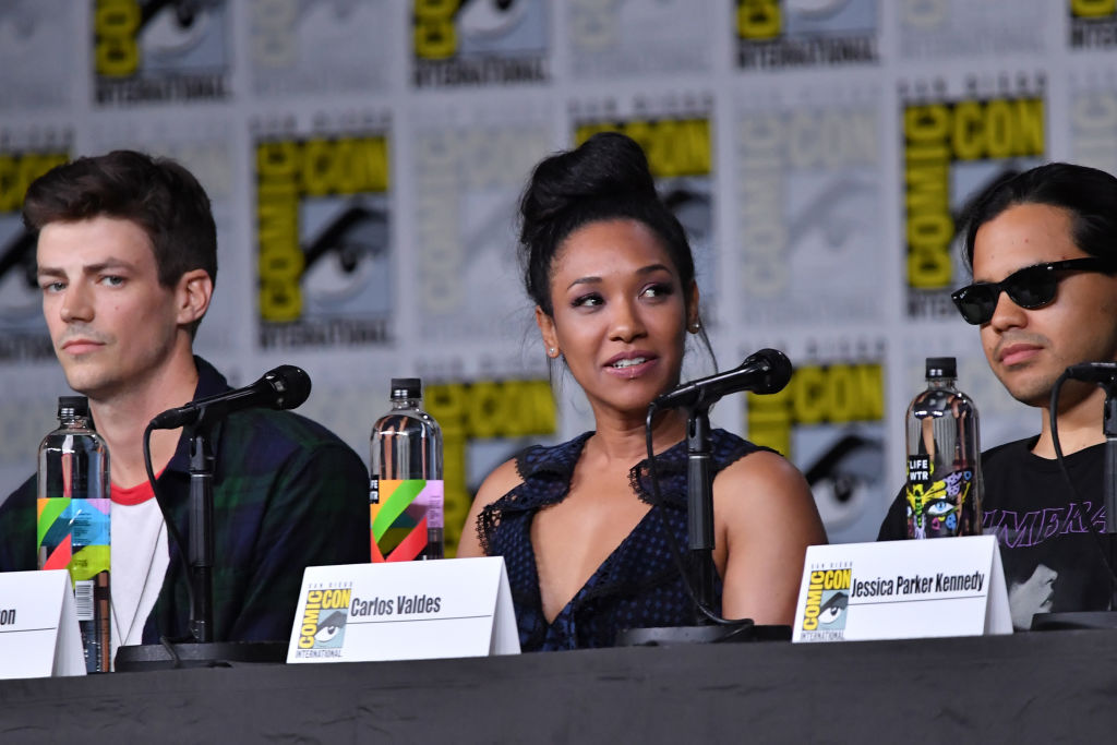'The Flash' stars Grant Gustin, Candice Patton, and Carlos Valdes