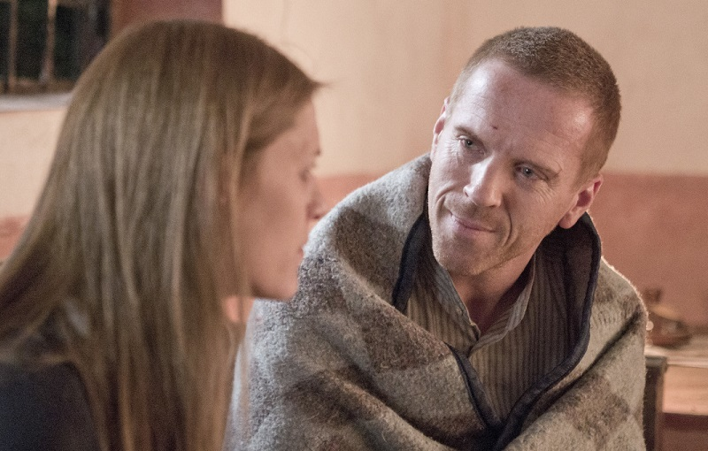 Brody and Carrie in 'Homeland'