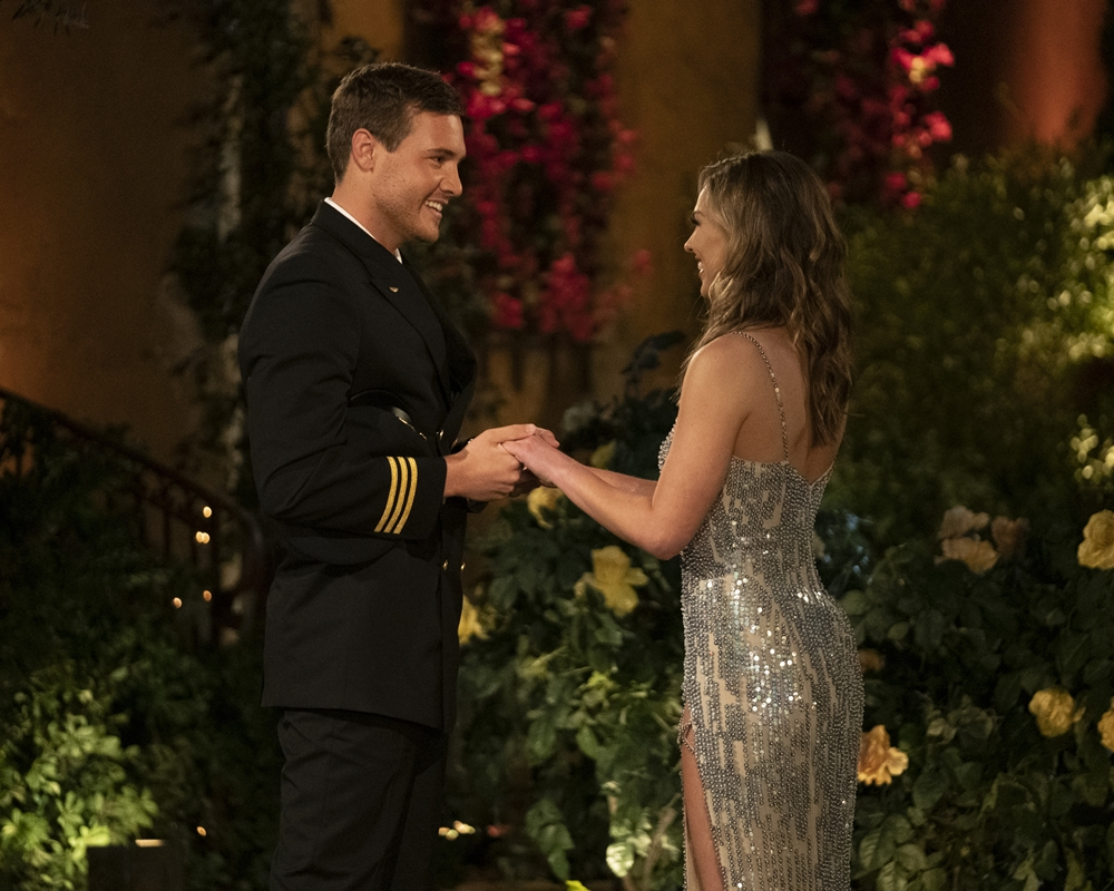 Hannah Brown and Peter Weber on The Bachelorette