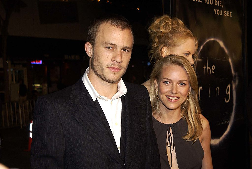 Heath Ledger, Naomi Watts, and Nicole Kidman during Hollywood Film Festival's Opening Night