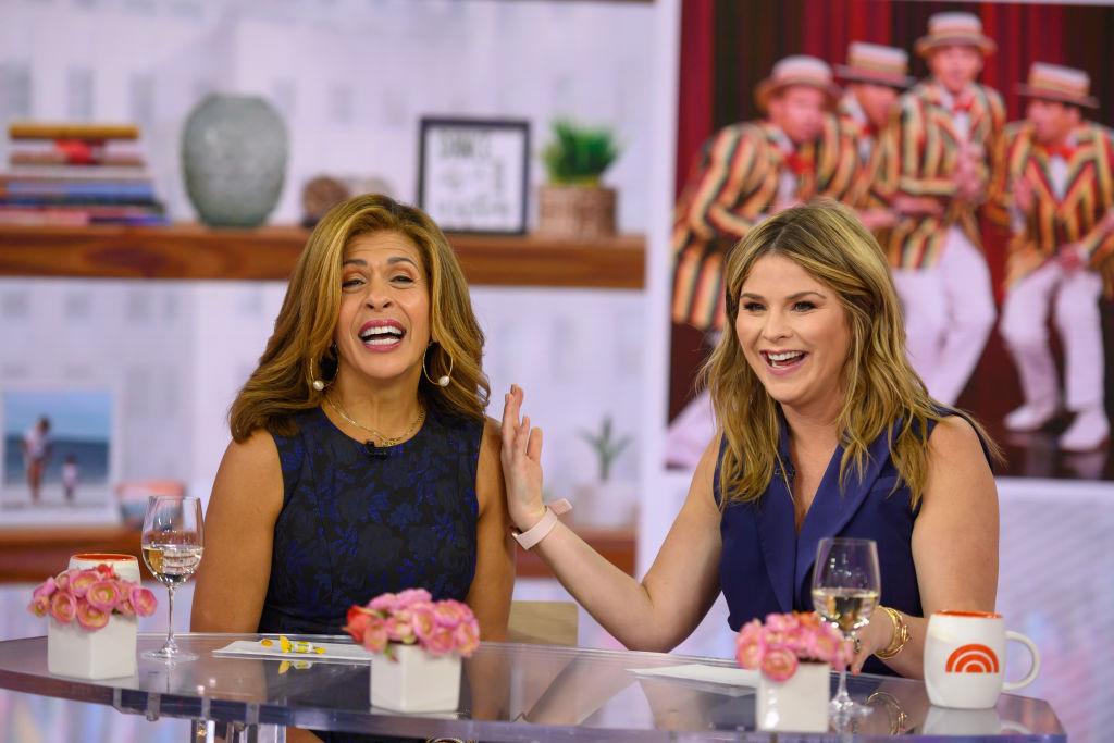 Hoda Kotb and Jenna Bush Hager of the 'Today Show'