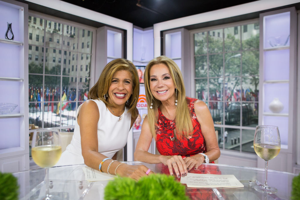 Hoda Kotb and Kathie Lee Gifford of the 'Today Show'