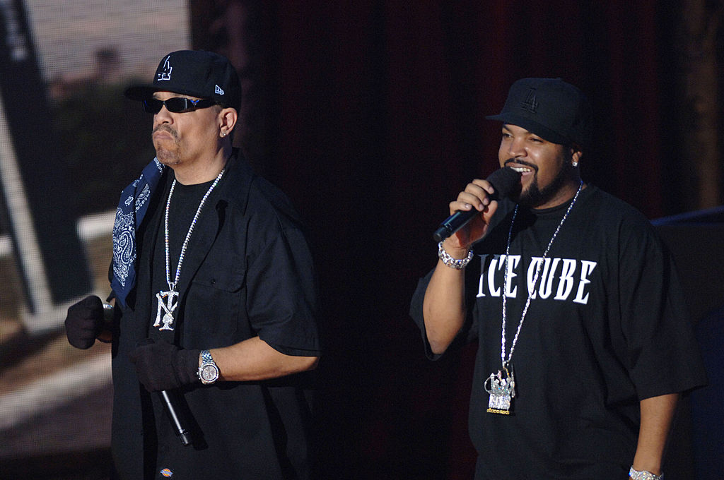 Ice T and Ice Cube