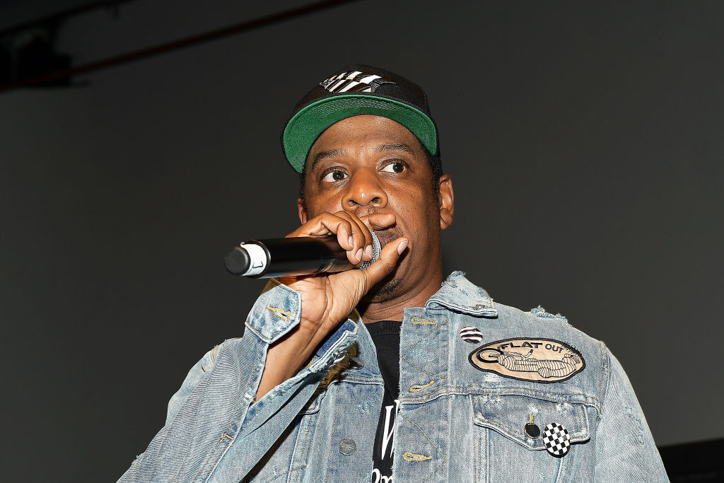 JAY-Z at an event in July 2017