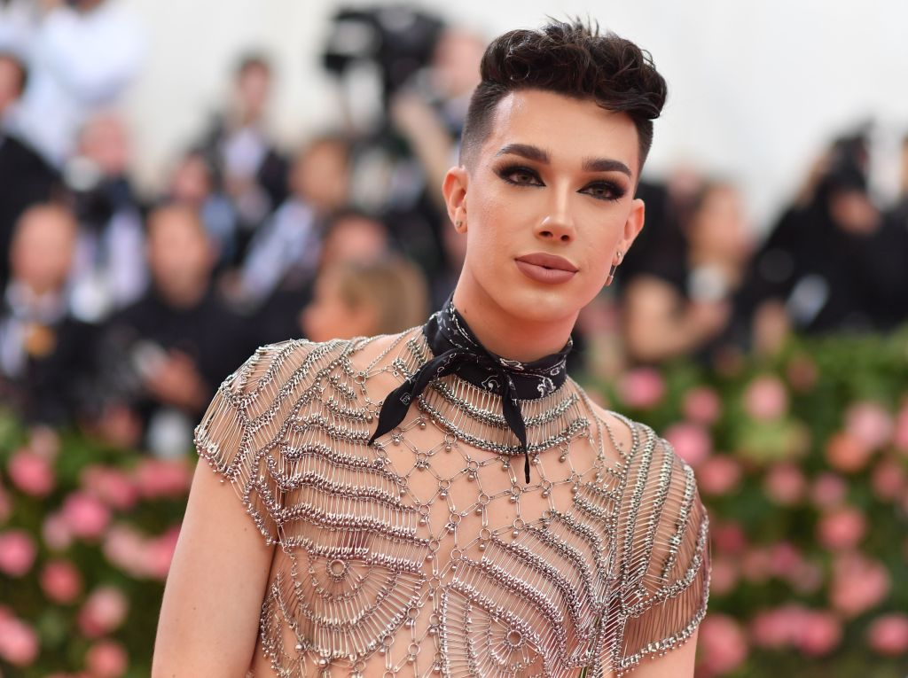 US internet personality James Charles arrives for the 2019 Met Gala