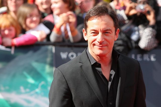 Jason Isaacs at the UK premiere of 'Harry Potter and the Deathly Hallows -- Part 2'