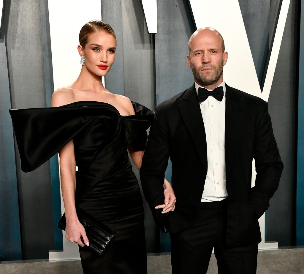 Jason Statham and Rosie Huntington Whiteley