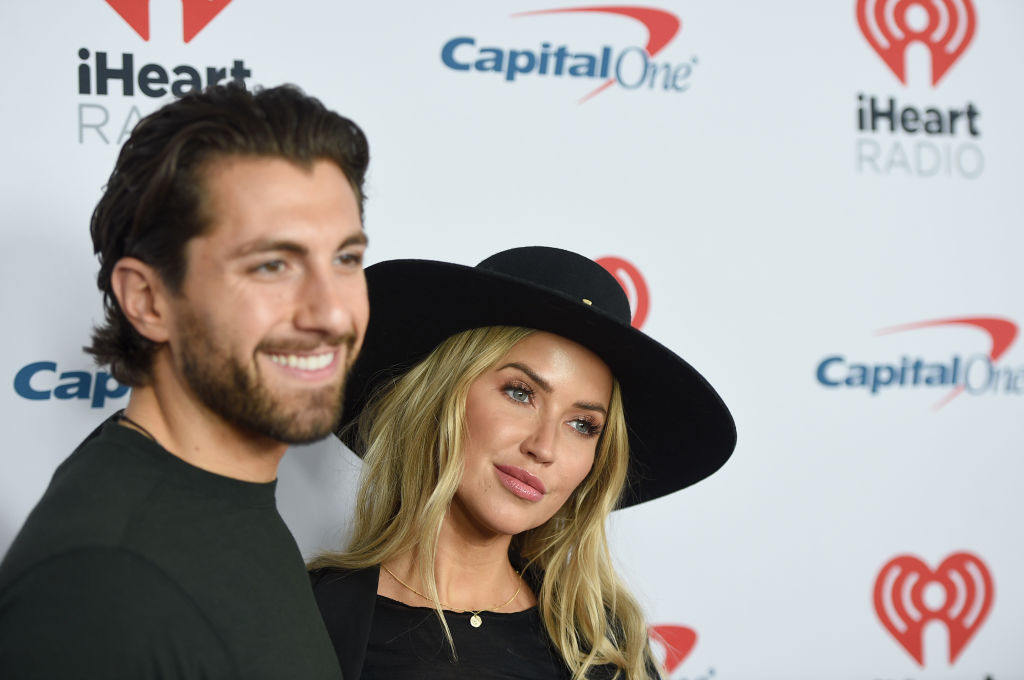 Jason Tartick and Kaitlyn Bristowe attend the 2020 iHeartRadio ALTer EGO at The Forum on January 18, 2020 in Inglewood, California.