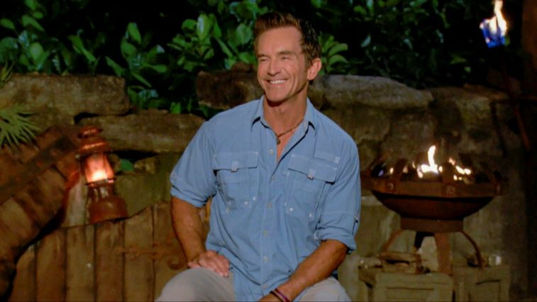 Jeff Probst at Tribal Council