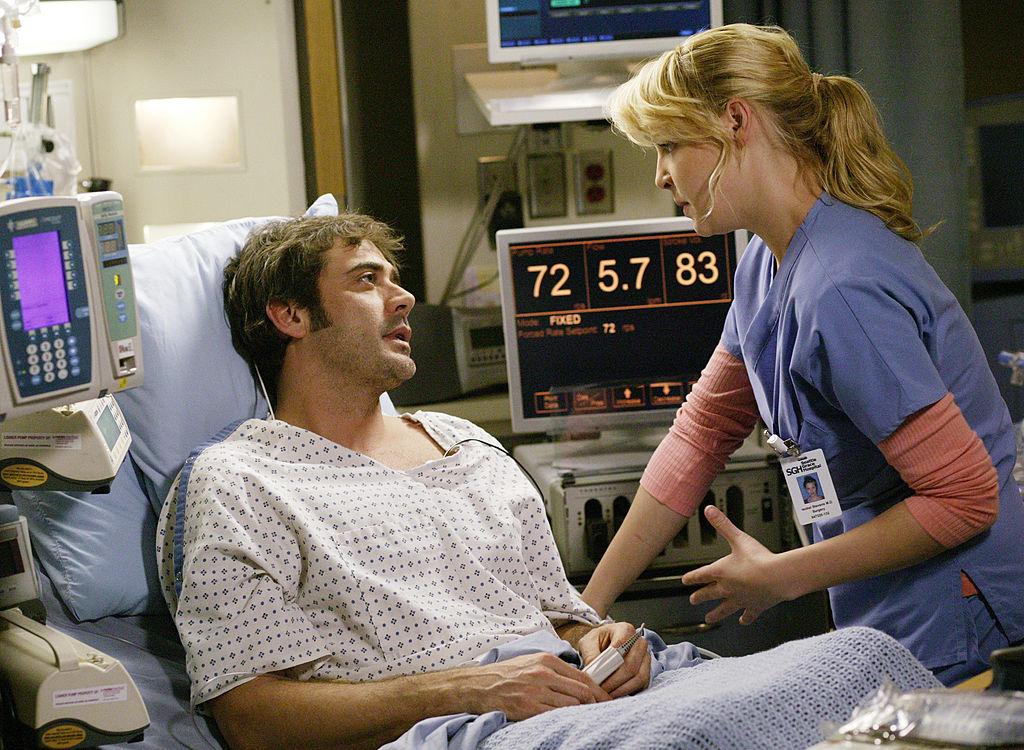 Jeffrey Dean Morgan and Katherine Heigl of 'Grey's Anatomy'