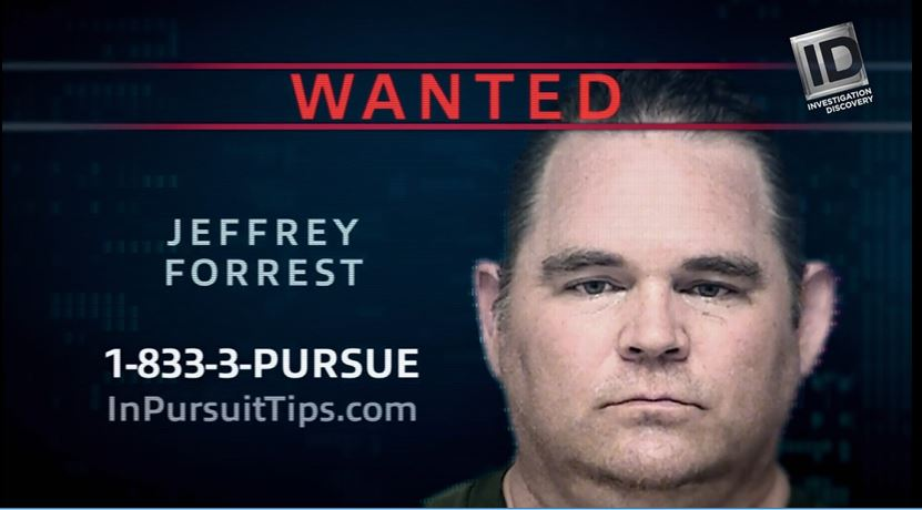 Jeffrey Forrest wanted poster