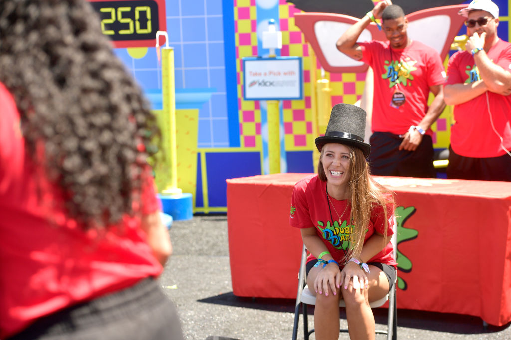 Jenna Compono attends 'Double Dare' presented by Mtn Dew Kickstart