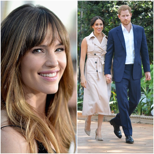 Jennifer Garner; Prince Harry and Meghan Markle