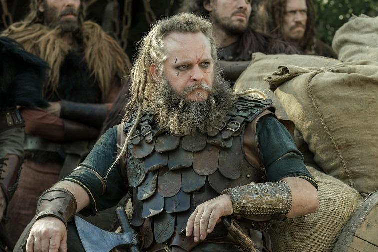 Jeppe Beck Laursen as Haesten in 'The Last Kingdom'