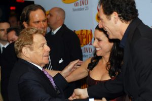 Jerry Stiller Keeps Julia Louis-Dreyfus Cracking Up in This Iconic 'Seinfeld' Scene