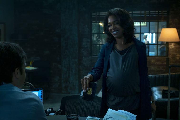 Jessica Frances Dukes as FBI Agent Maya Miller