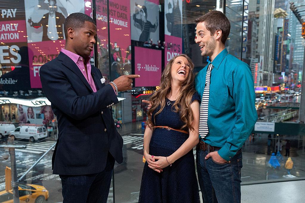 AJ Calloway with Jill Duggar and Derick Dillard
