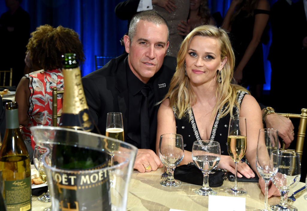 Jim Toth and Reese Witherspoon | Michael Kovac/Getty Images for  Moet & Chandon