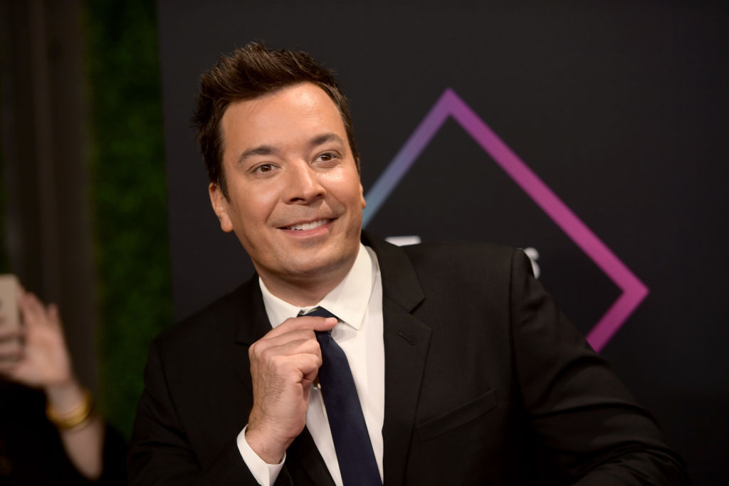 Jimmy Fallon attends the 2018 People's Choice Awards