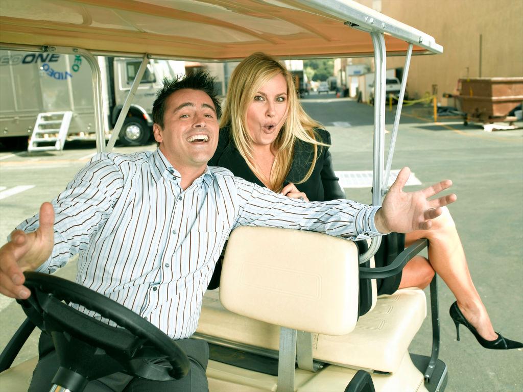Joey: Matt LeBlanc and Jennifer Coolidge