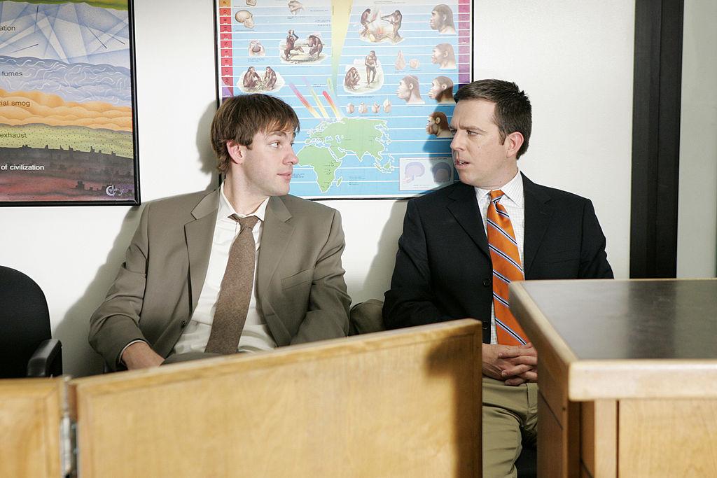 John Krasinski and Ed Helms of 'The Office'