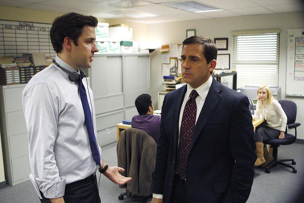 John Krasinski and Steve Carell of 'The Office'