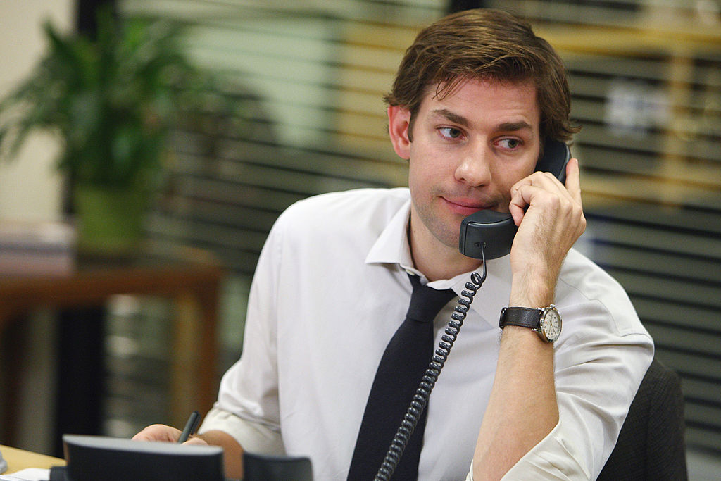John Krasinski as Jim Halpert on The Office