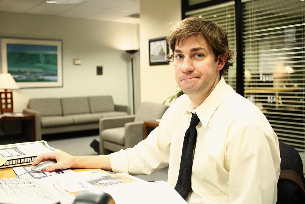 John Krasinski as Jim Halpert on 'The Office'