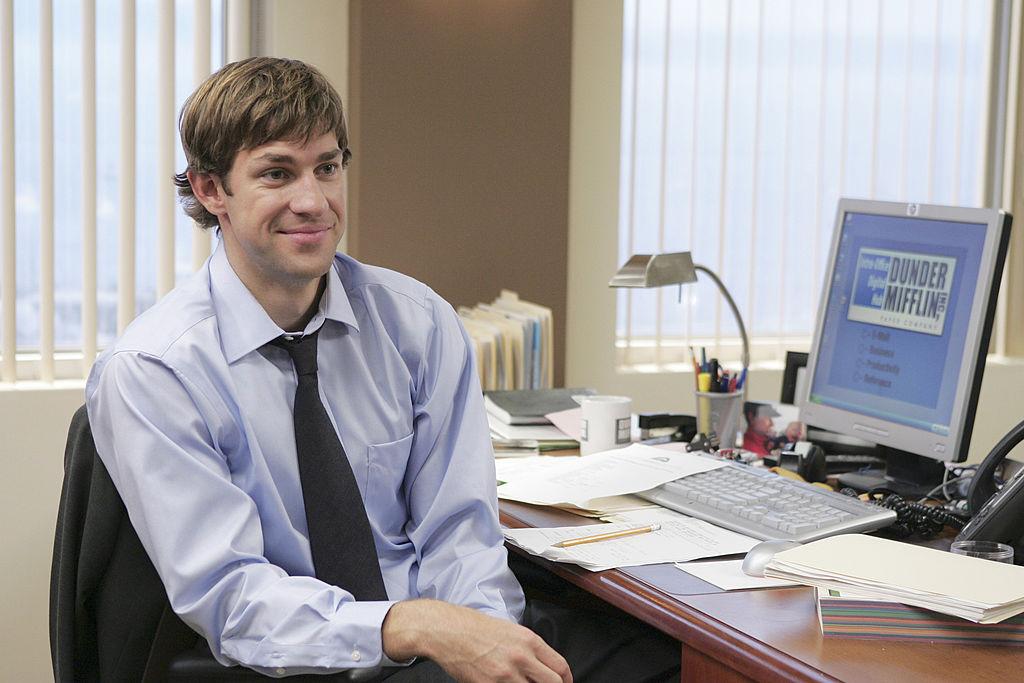 John Krasinski cast member of The Office
