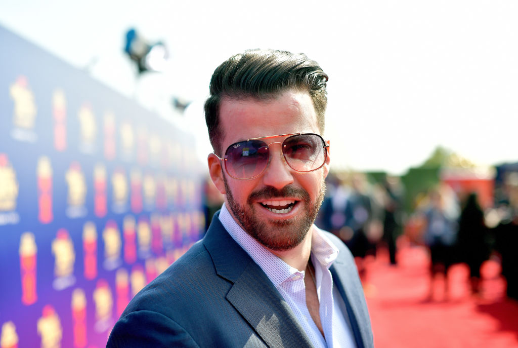 Johnny 'Bananas' Devenanzio attends the 2019 MTV Movie and TV Awards at Barker Hangar