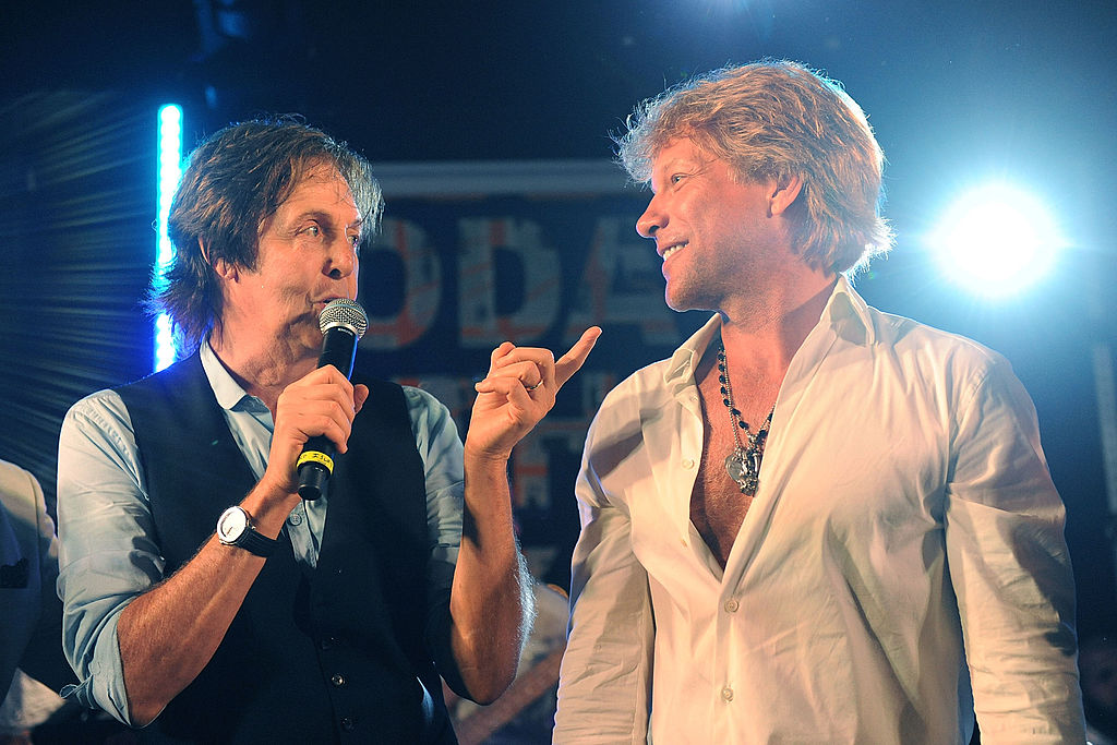 Jon Bon Jovi and Paul McCartney