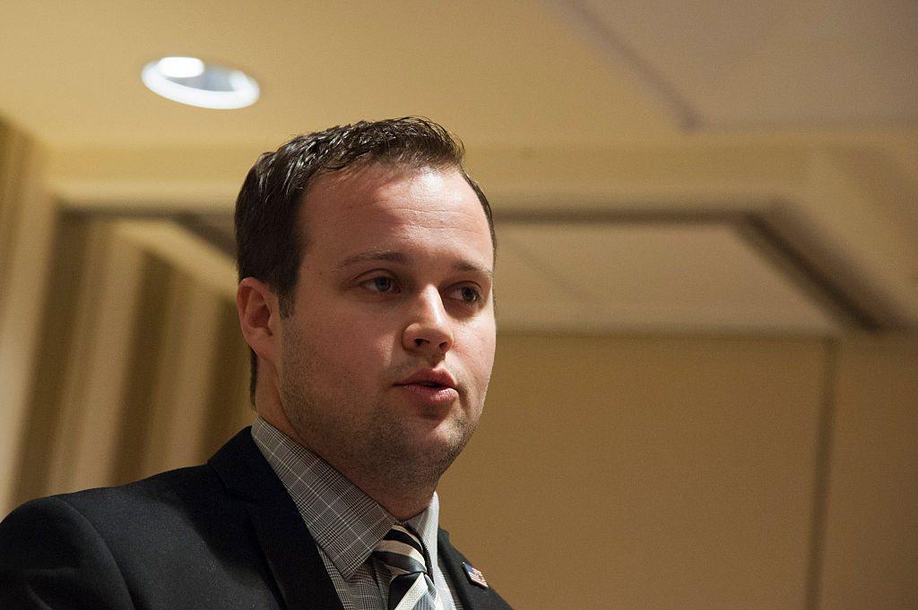 Josh Duggar speaks during the 42nd annual Conservative Political Action Conference