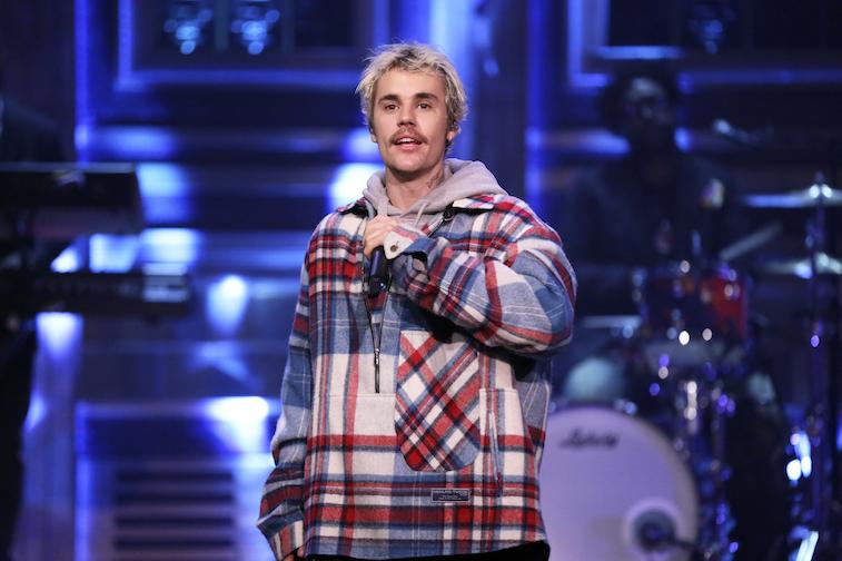 Justin Bieber performs onstage