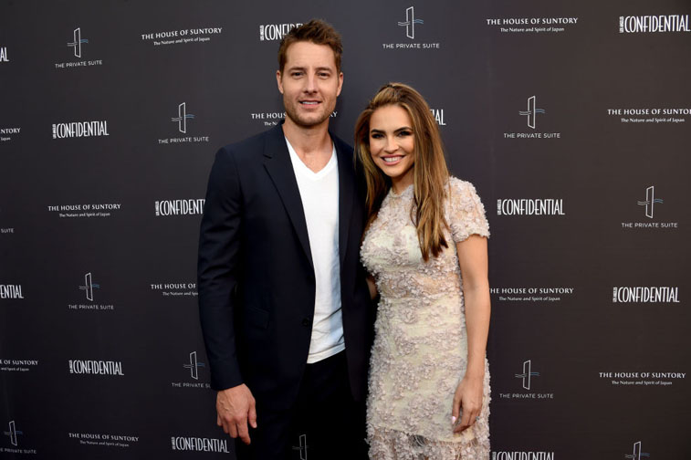 Justin Hartley Chrishell Stause