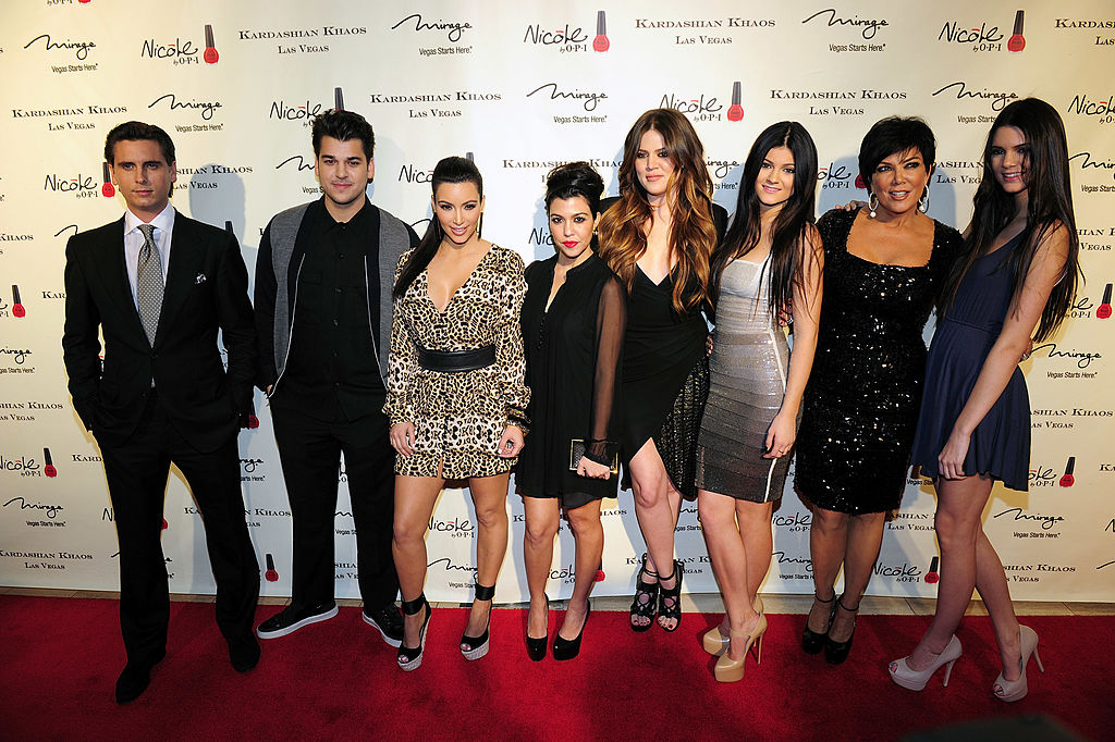 Scott Disick, Rob Kardashian Jr., Kim Kardashian, Kourtney Kardashian, Khole Kardashian, Kylie Jenner, Kris Jenner and Kendall Jenner