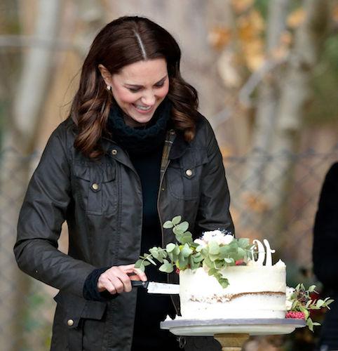 Kate Middleton definitely enjoys sweets.