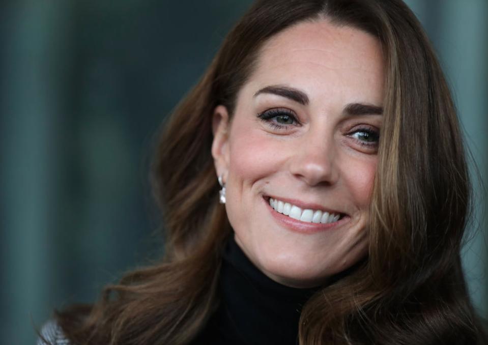 Kate Middleton giving a warm smile