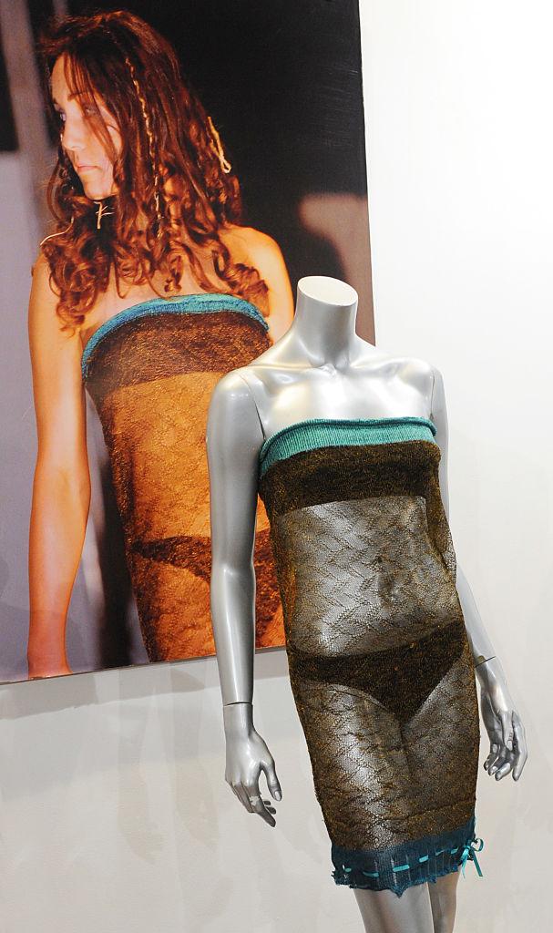 Kate Middleton's catwalk dress