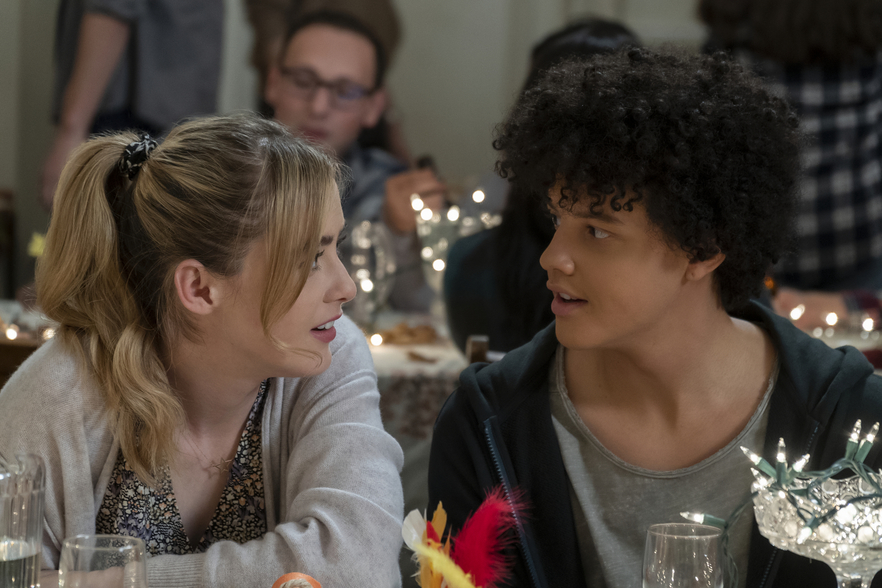 Kathryn Newton and Jacques Colimon on Netflix's 'The Society'