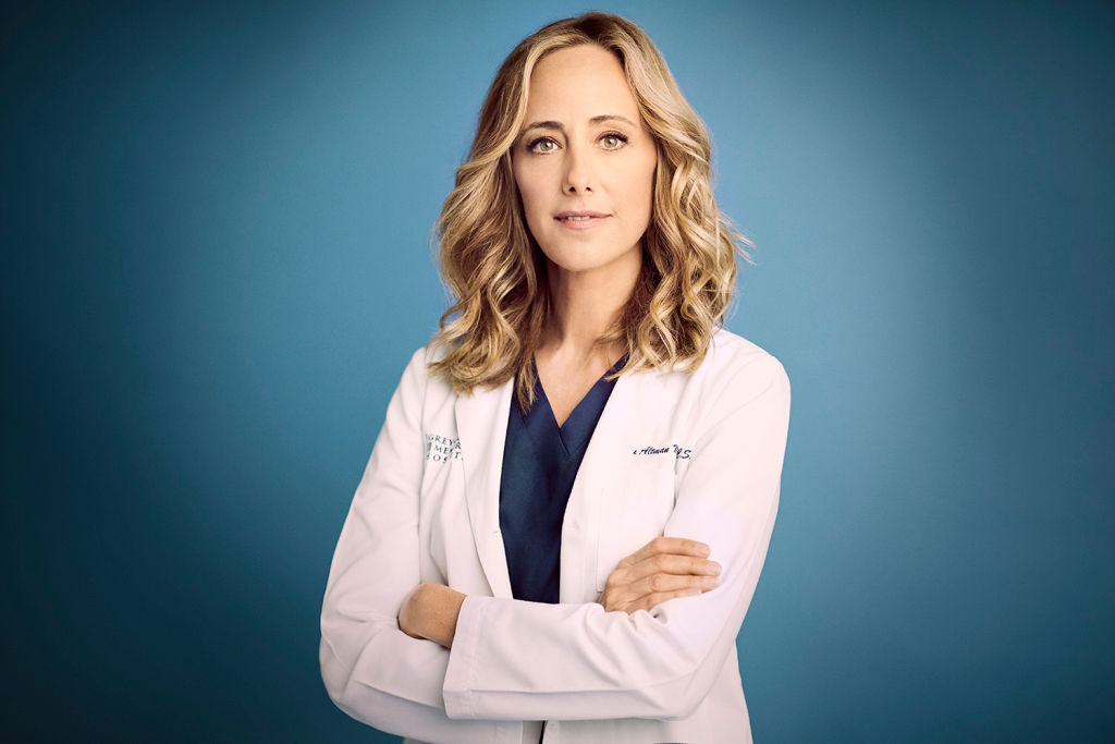 "Grey's Anatomy"" stars Kim Raver as Teddy Altman."