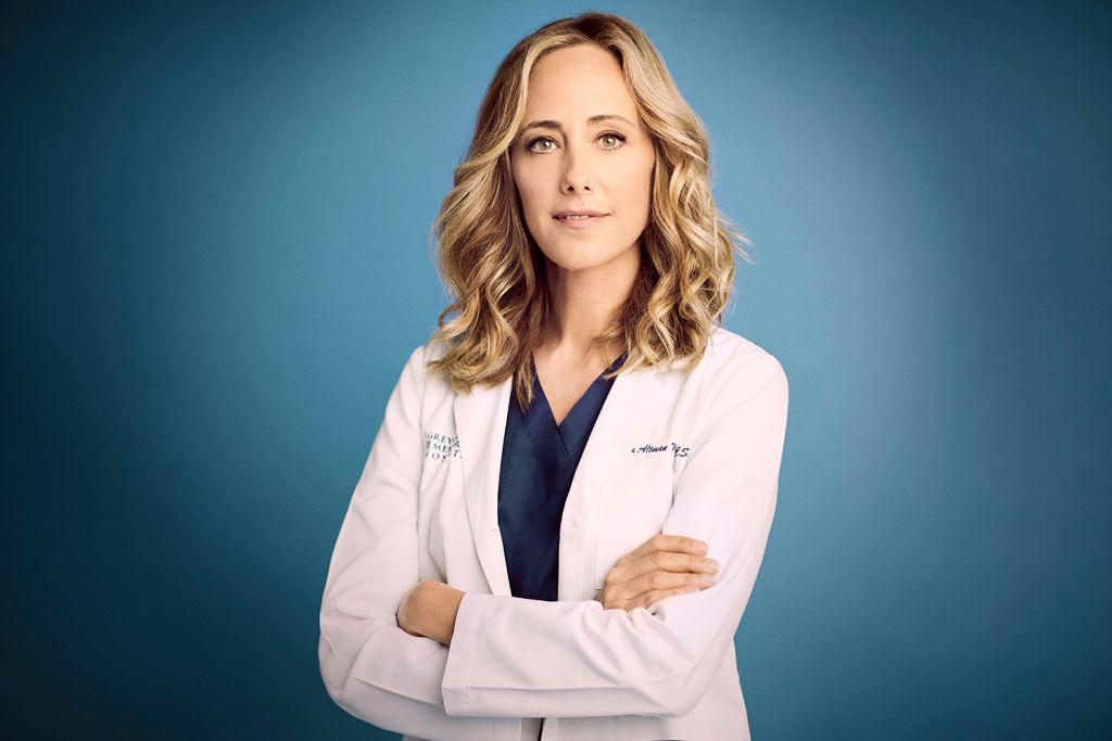 """Grey's Anatomy"""" stars Kim Raver as Teddy Altman."""