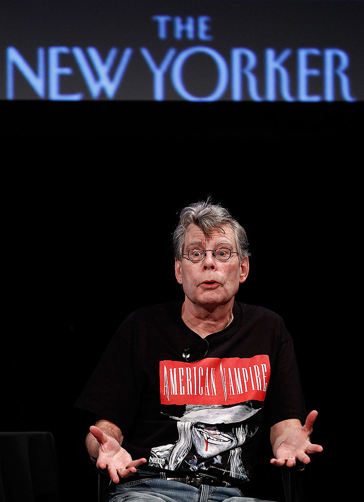 Writer Stephen King